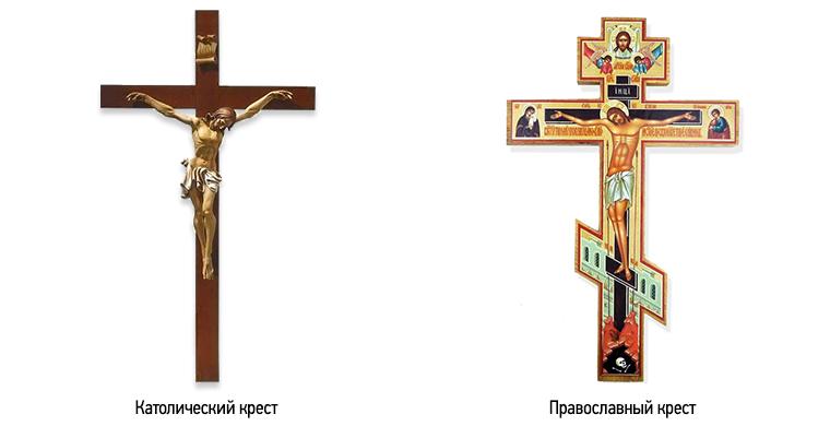 отличие католического креста от православного фото