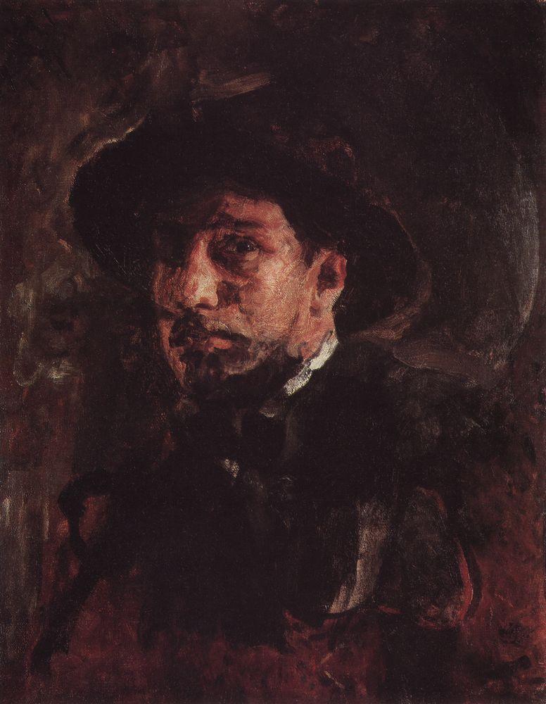 Автопортрет1. 1885