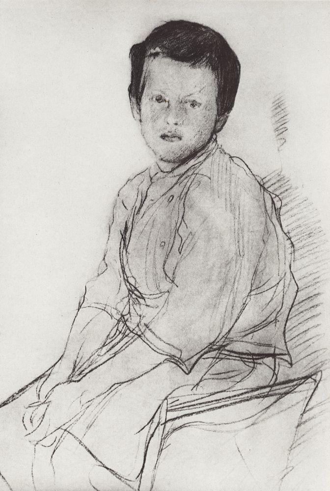 Миша Серов. Конец 1890-х