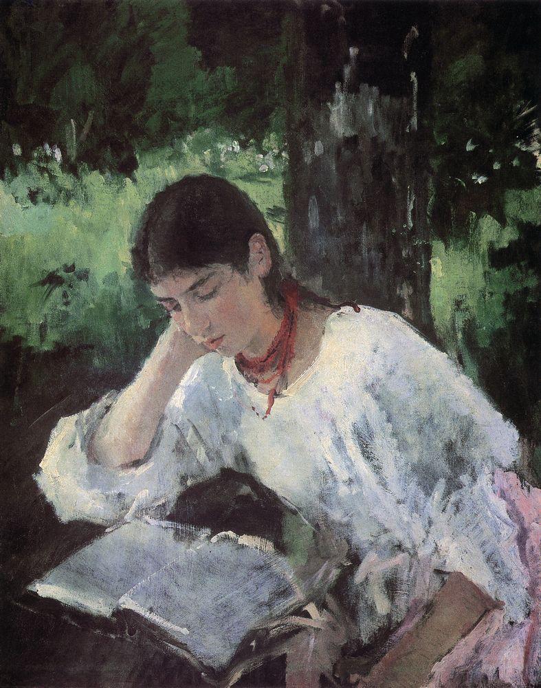 Портрет А.Я.Симонович. 1889