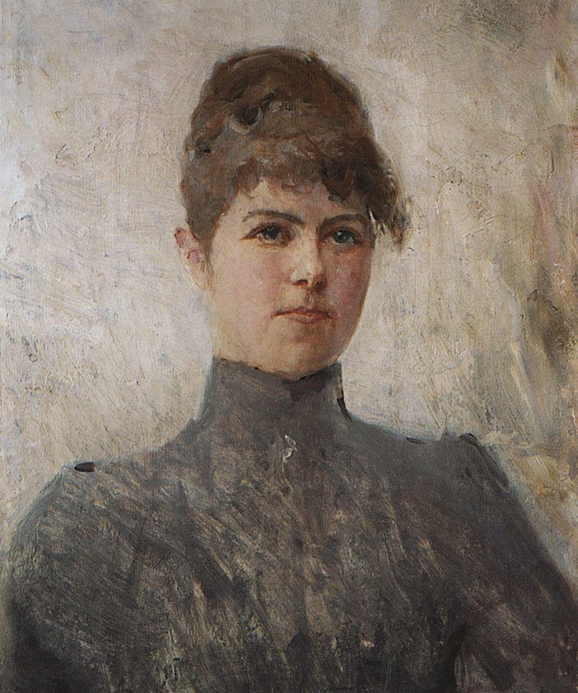 Портрет актрисы М.Я.Ван-Зандт, в замужестве Чериновой. 1886