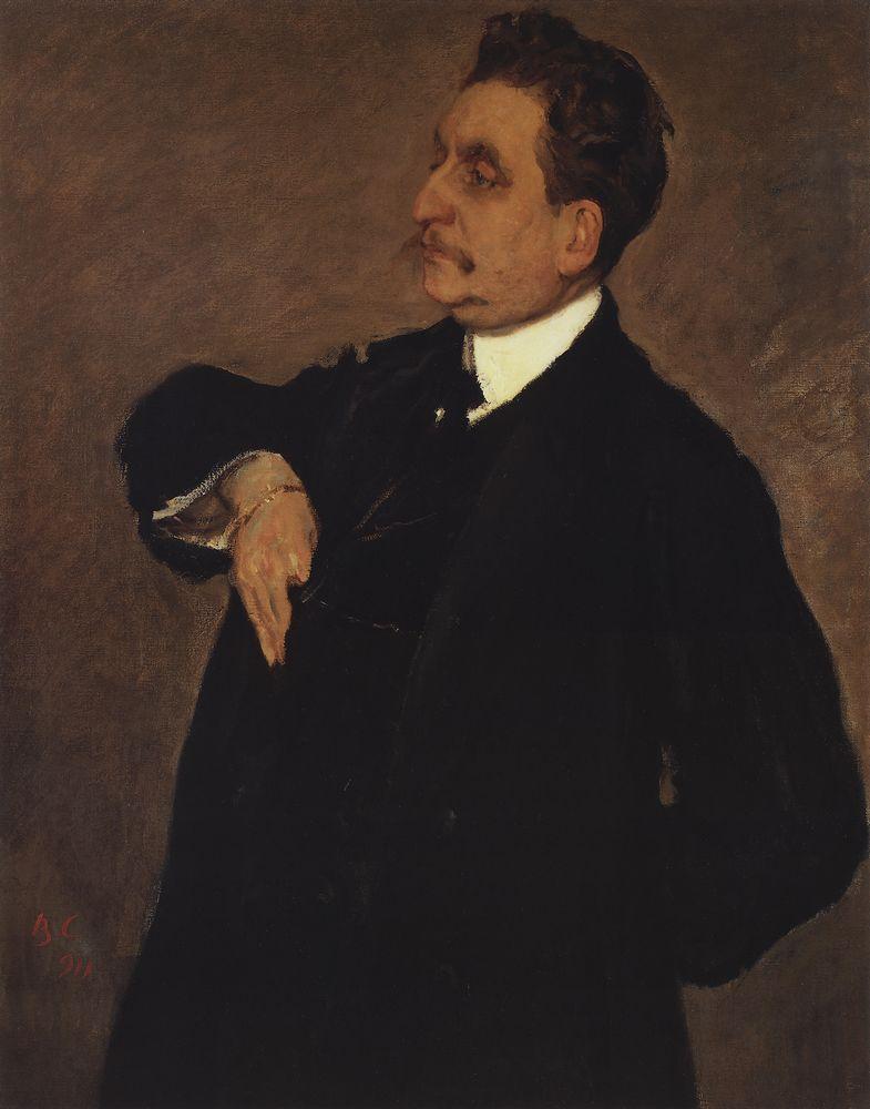 Портрет В.О.Гиршмана. 1911