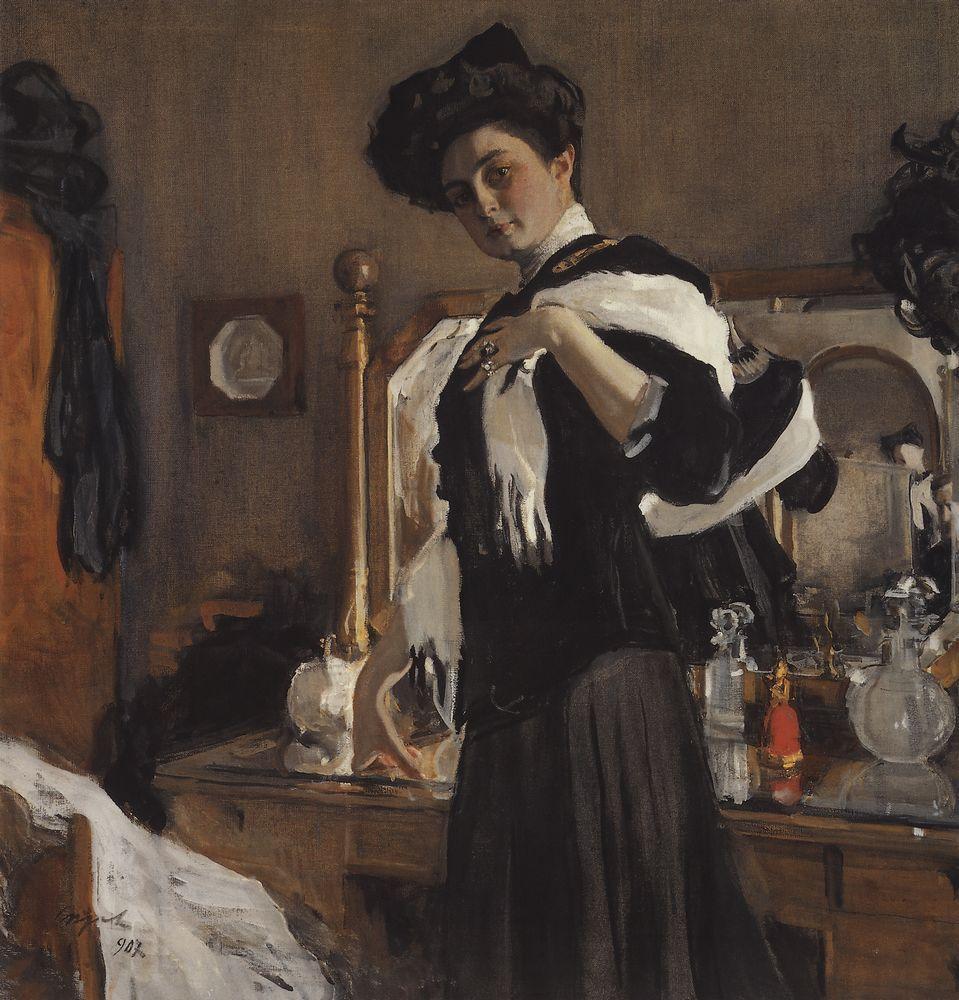 Портрет Г.Л.Гиршман. 1907