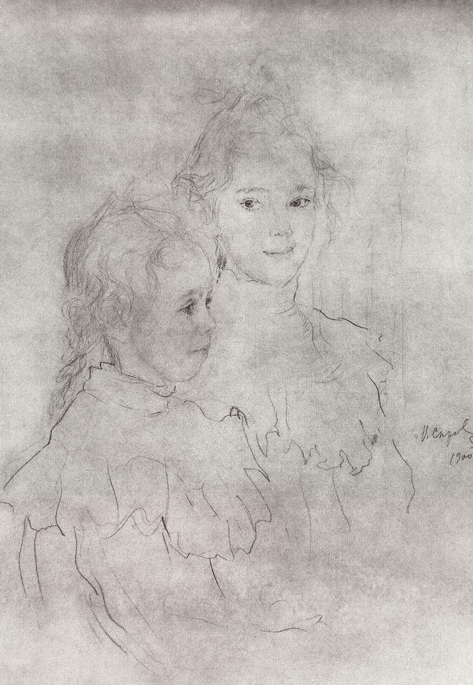 Портрет дочерей С.С.Боткина. 1900