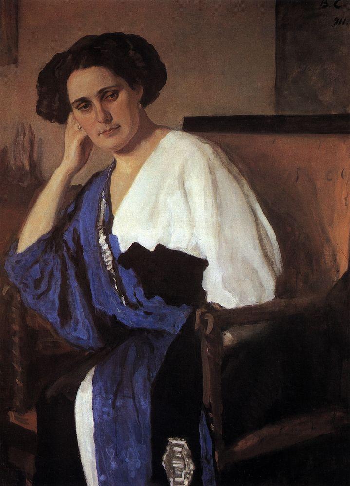 Портрет Е.А.Балиной. 1911