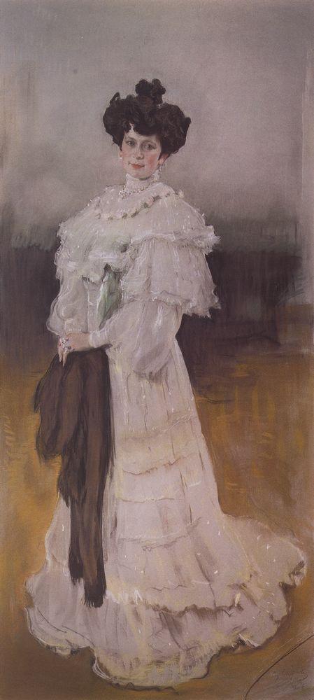 Портрет Е.А.Красильщиковой. 1906