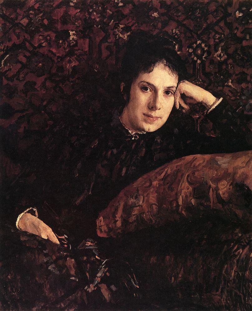 Портрет Е.Н.Чоколовой. 1887