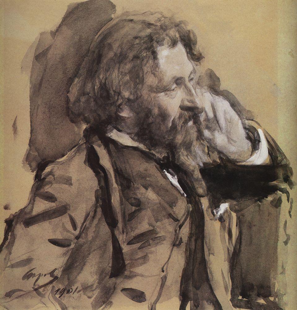Портрет И.Е.Репина. 1901