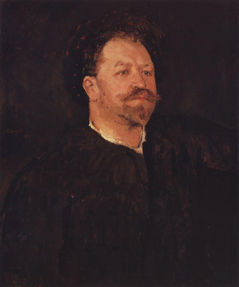 Портрет итальянского певца Франческо Таманьо. 1891-1893