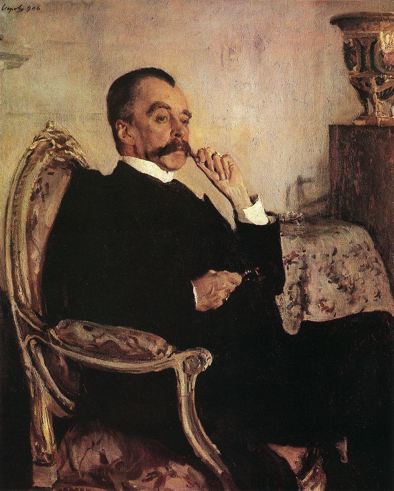 Портрет кн. В.Н.Голицына. 1906