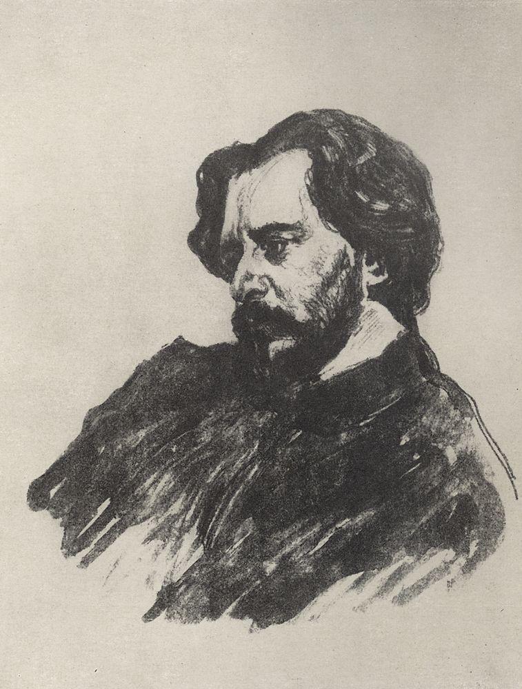 Портрет Л.Н.Андреева2. 1907