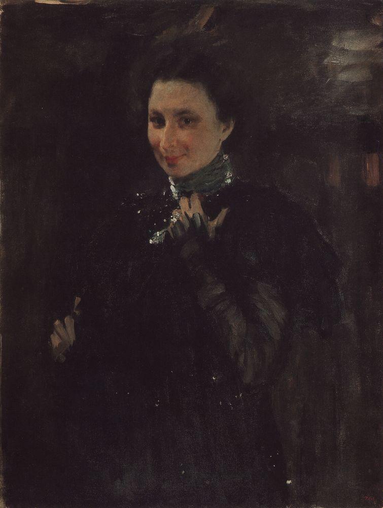 Портрет М.К.Олив. 1895