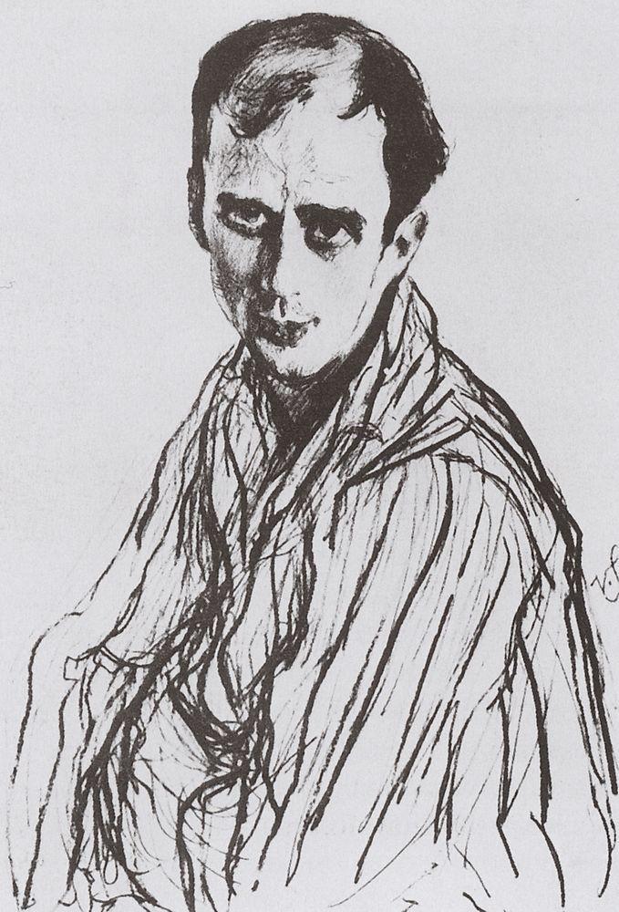Портрет М.М.Фокина. 1909