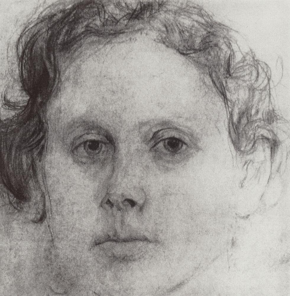 Портрет О.Ф.Трубниковой. 1885