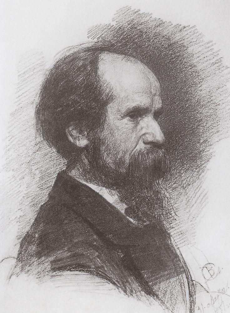 Портрет П.П.Чистякова. 1881