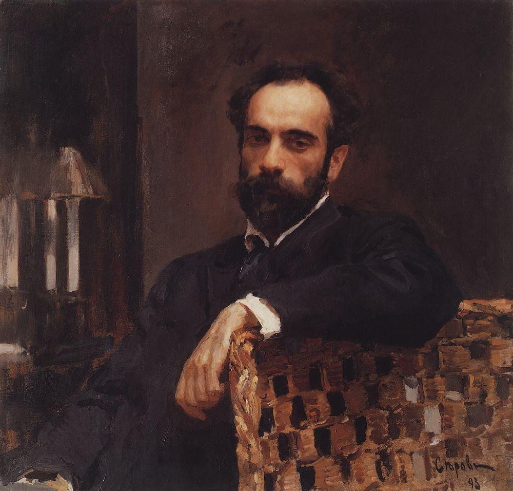 Портрет художника И.И.Левитана. 1893