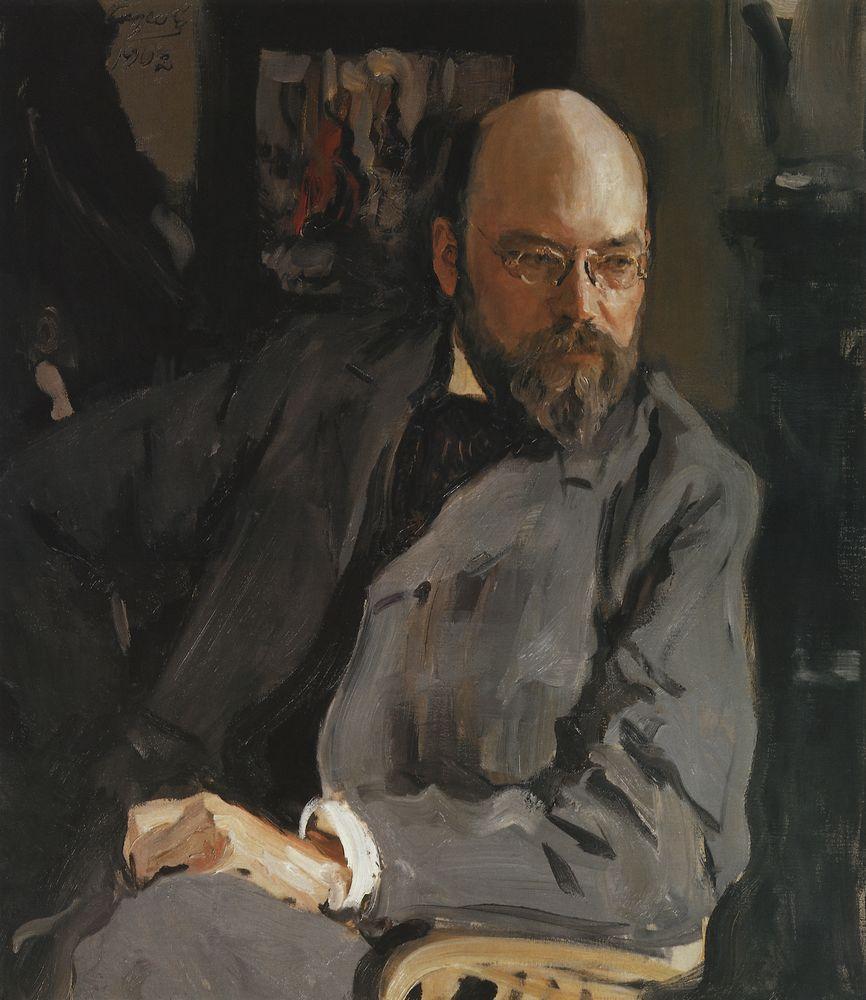 Портрет художника И.С.Остроухова. 1902