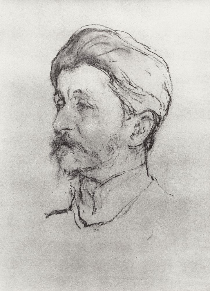 Портрет художника М.А.Врубеля. 1907