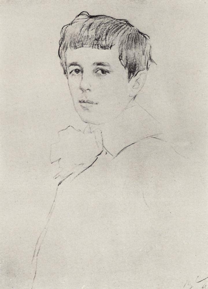 Портрет Юры Морозова. 1905