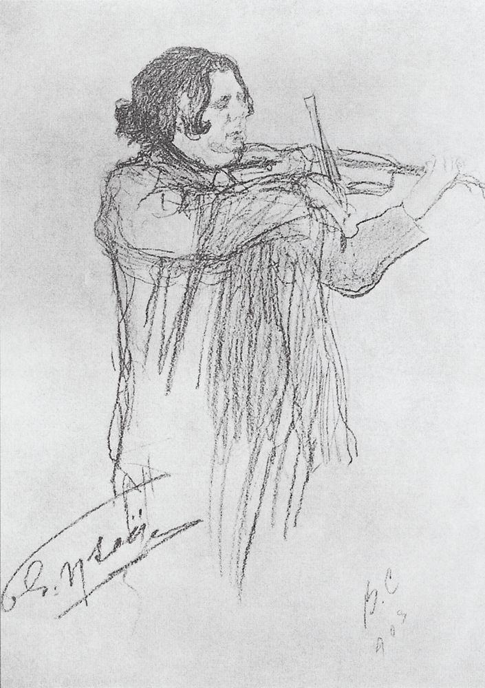 Эжен Изаи. 1903