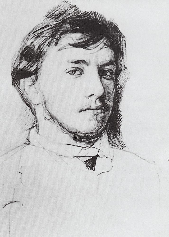 Автопортрет2. 1885