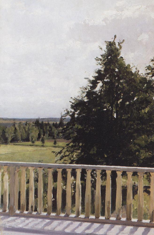 Балкон. 1911