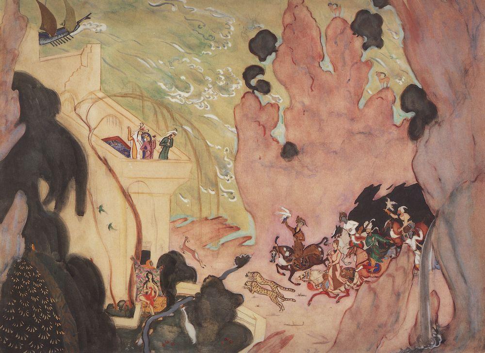 Всадники. 1910