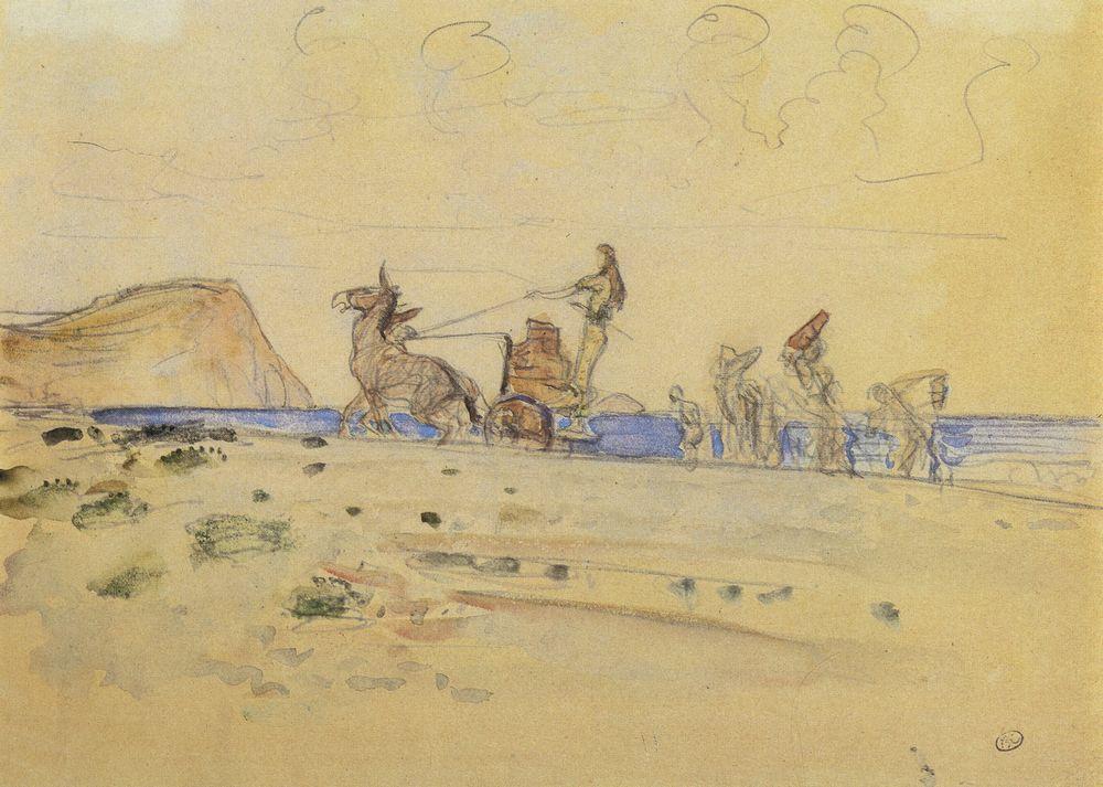 Одиссей и Навзикая1. 1910