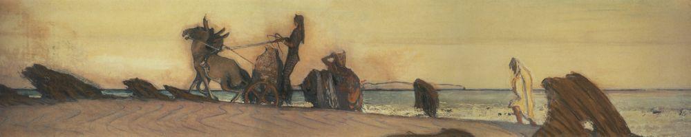 Одиссей и Навзикая3. 1910