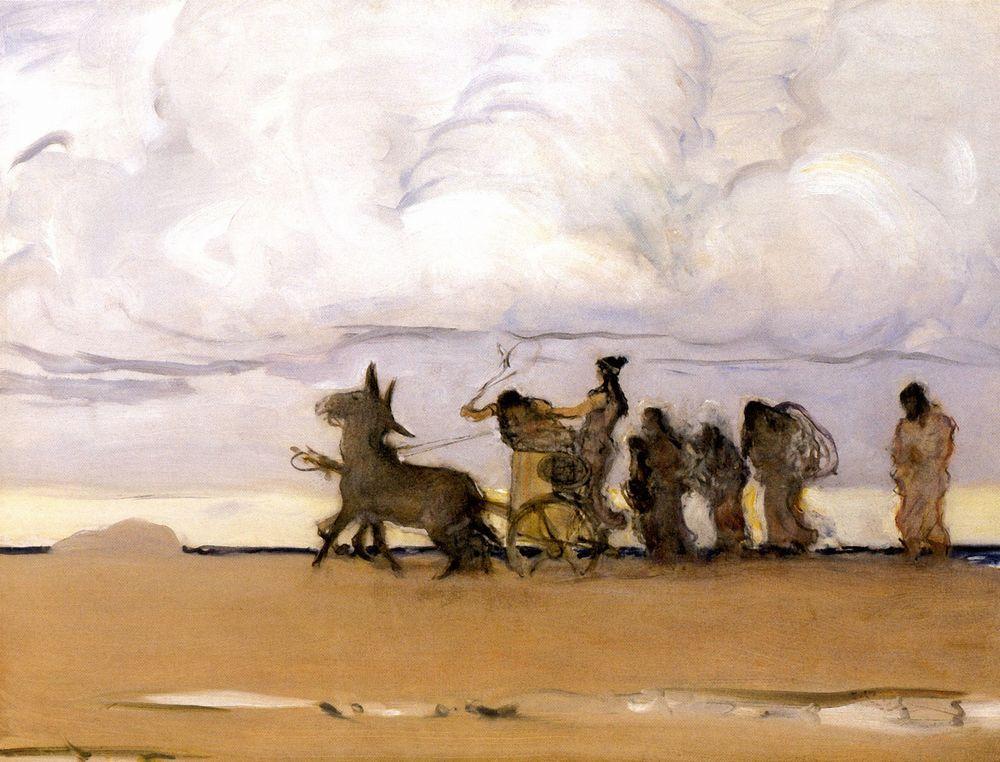 Одиссей и Навзикая4. 1910