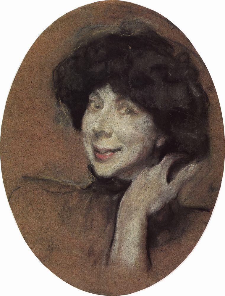 Портрет А.К.Бенуа. 1908