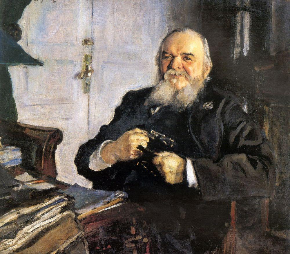 Портрет А.Н.Турчанинова. 1906