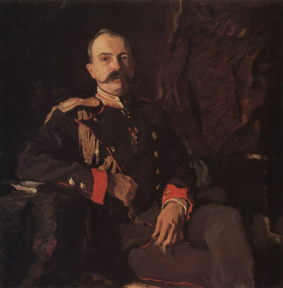 Портрет вел. кн. Георгия Михайловича. 1901