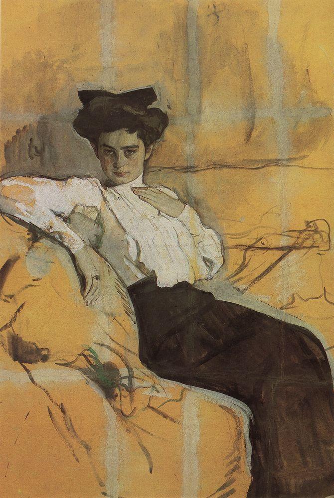 Портрет Г.Л.Гиршман. 1906