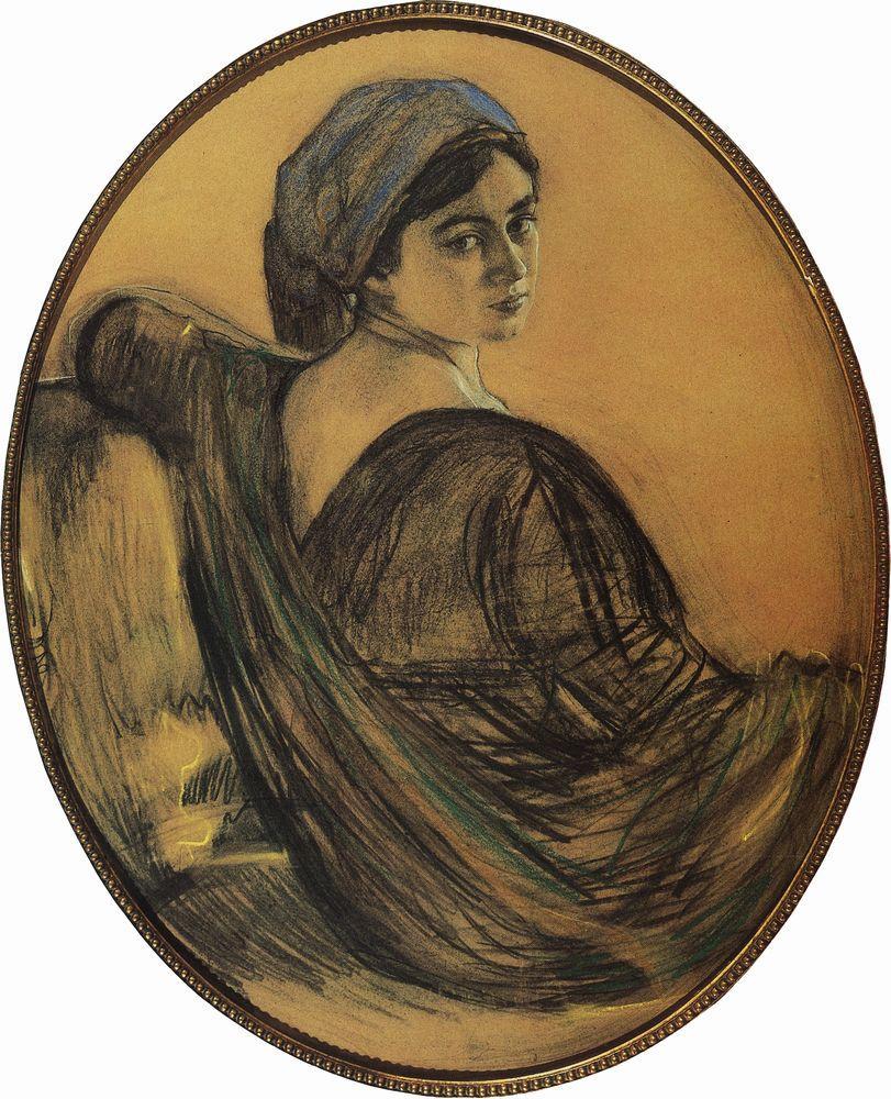 Портрет Г.Л.Гиршман. 1911