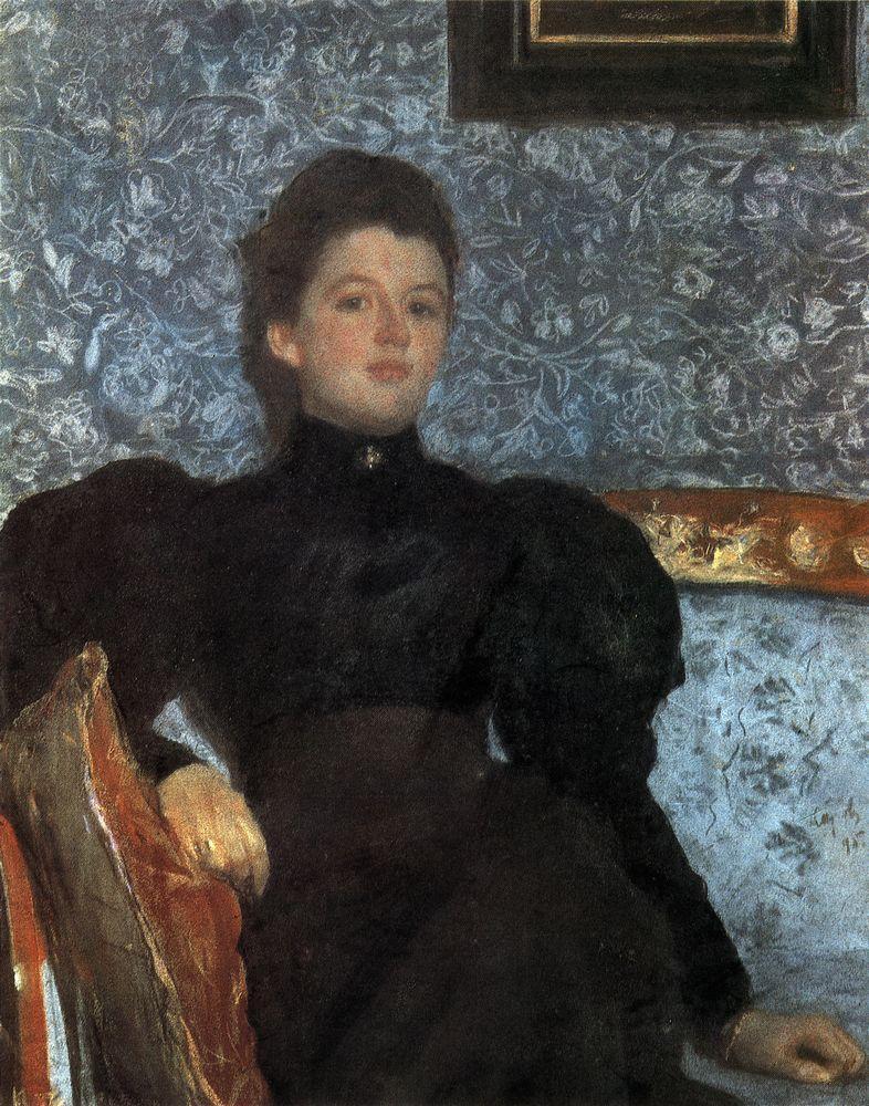 Портрет гр. В.В.Мусиной-Пушкиной. 1895