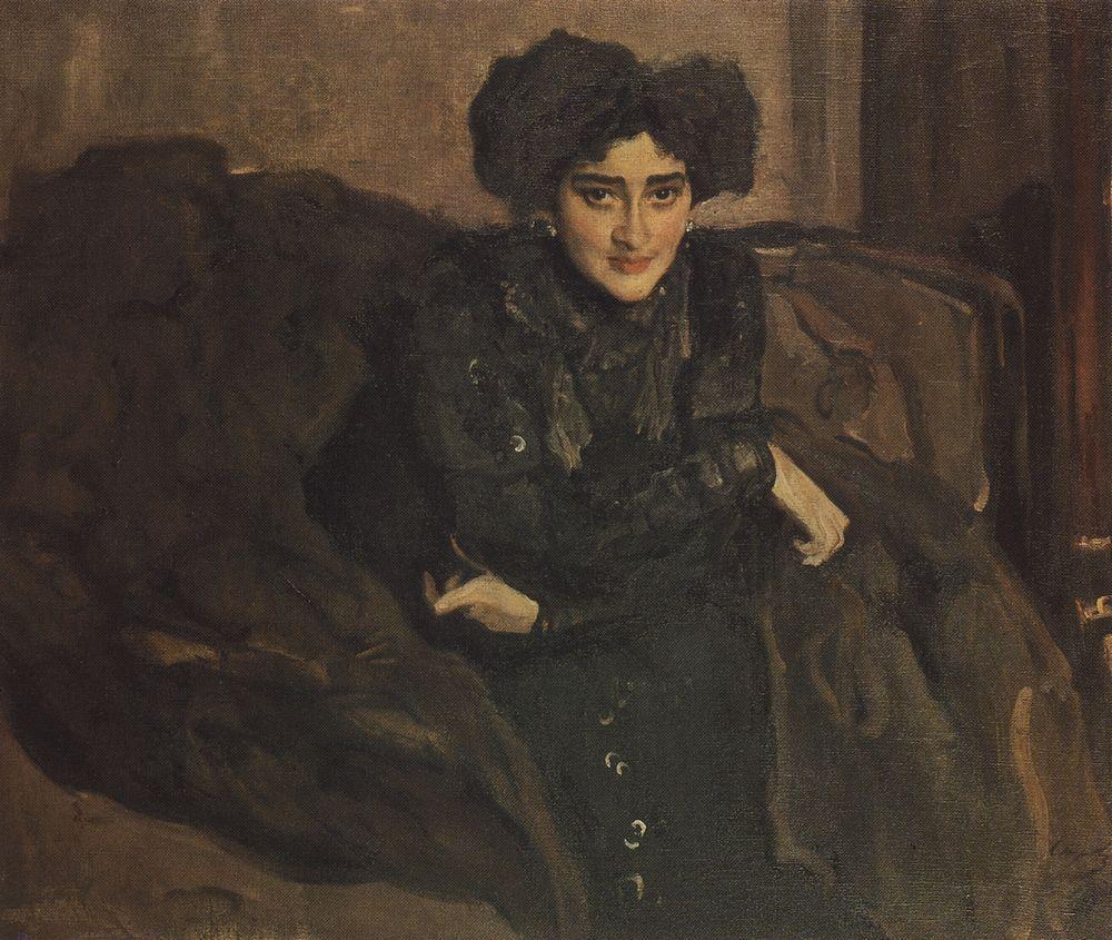 Портрет Е.И.Лосевой. 1903