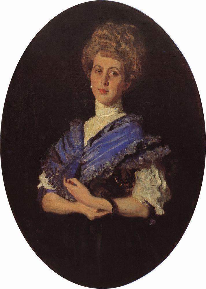 Портрет Е.С.Карзинкиной. 1906