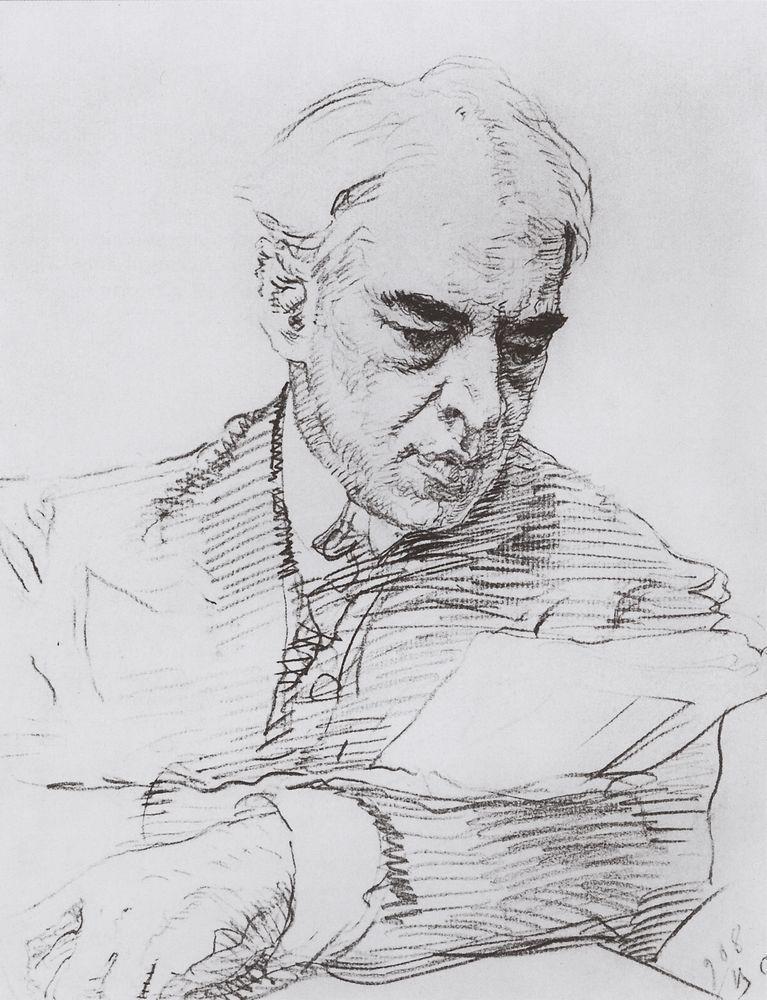 Портрет К.С.Станиславского. 1908