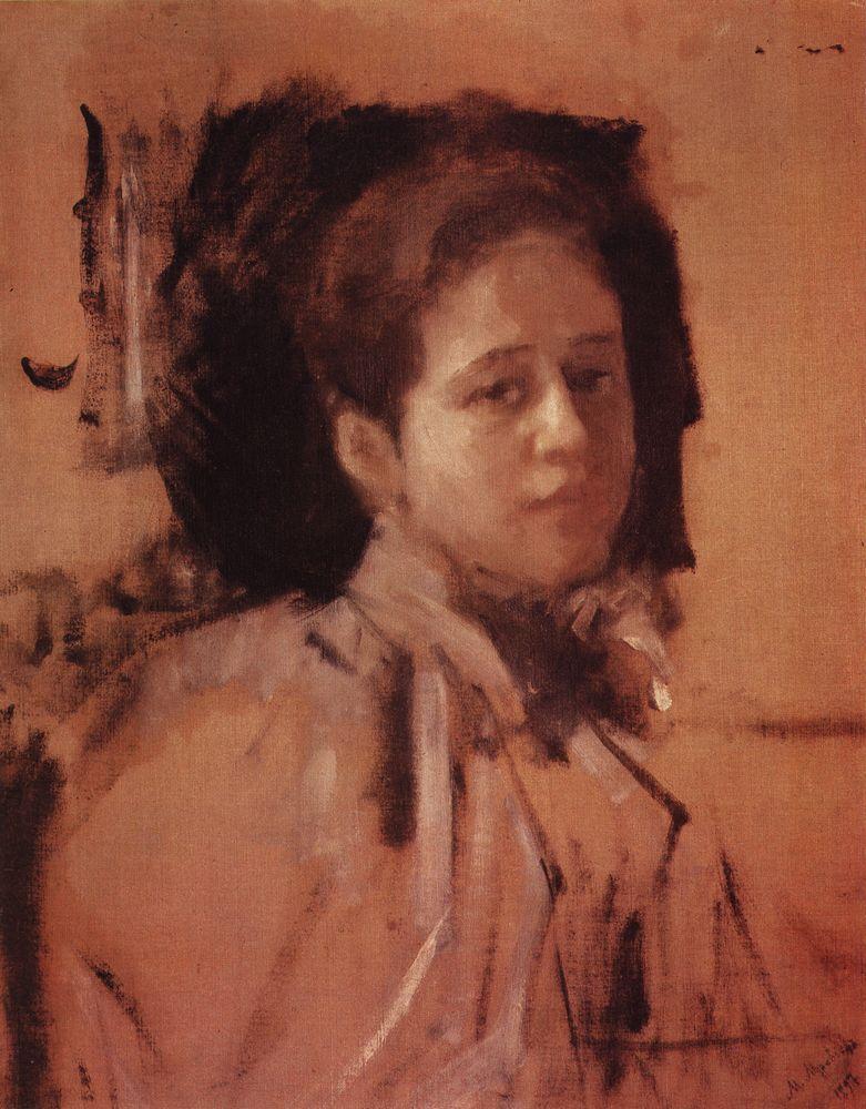 Портрет Л.А.Мамонтовой. 1894