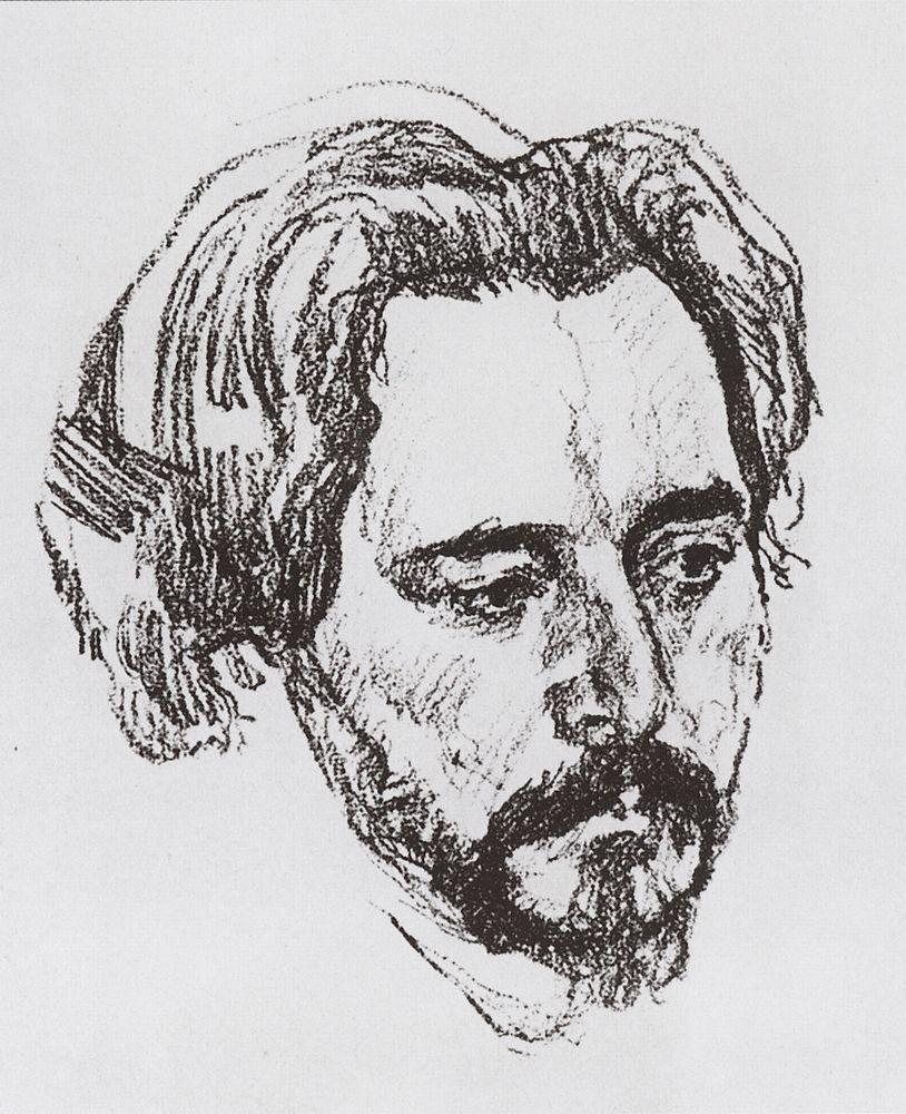 Портрет Л.Н.Андреева1. 1907