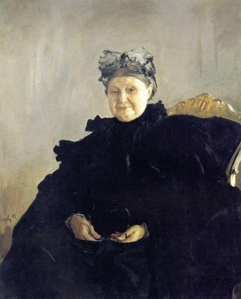 Портрет М.Ф.Морозовой. 1897
