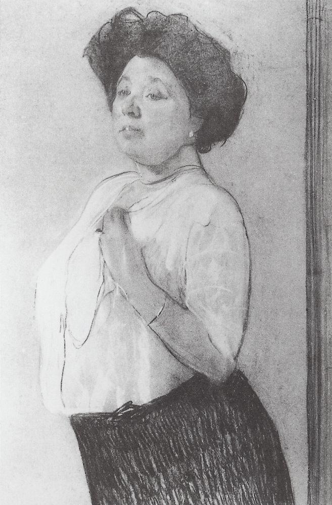 Портрет Н.П.Ламановой. 1911