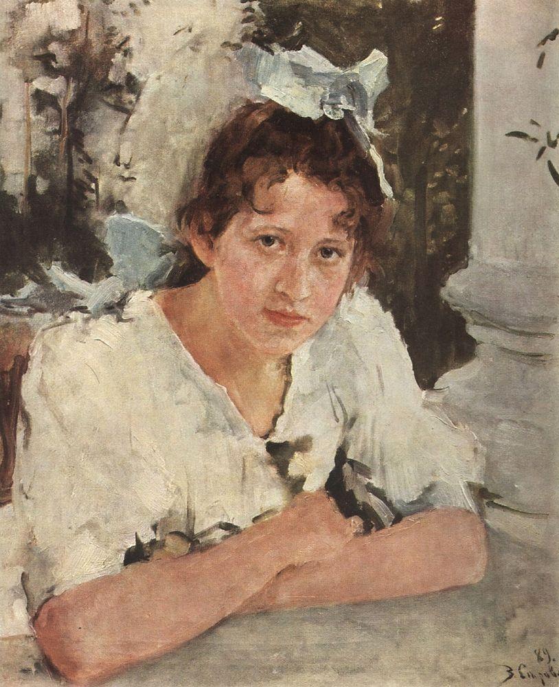 Портрет П.А.Мамонтовой. 1889
