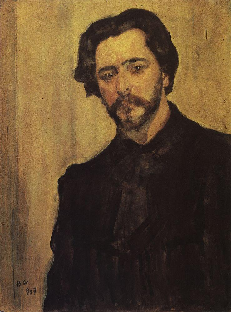Портрет писателя Л.Н.Андреева. 1907