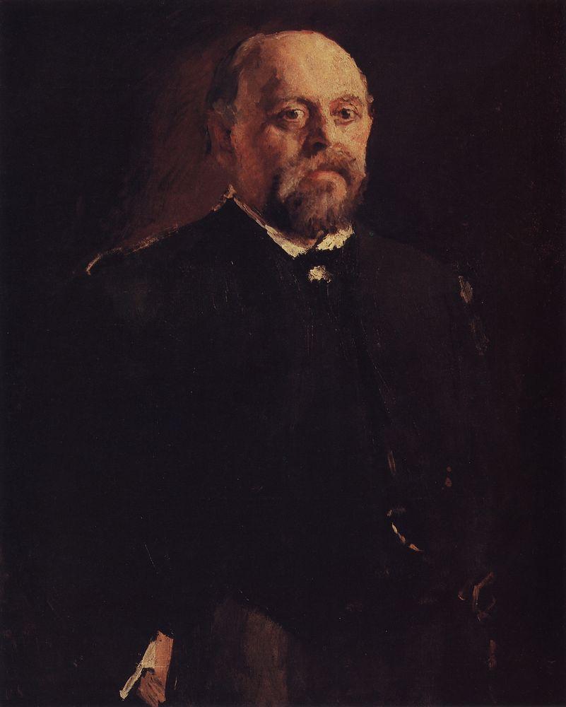 Портрет С.И.Мамонтова. 1887