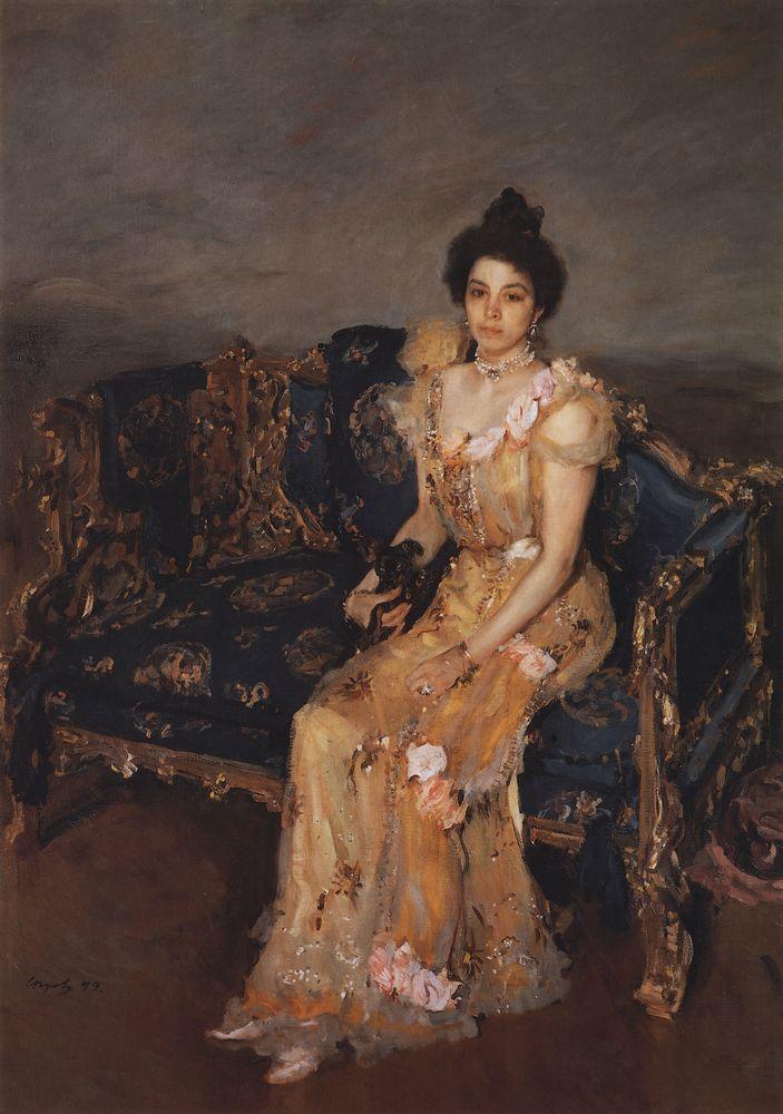 Портрет С.М.Боткиной. 1899