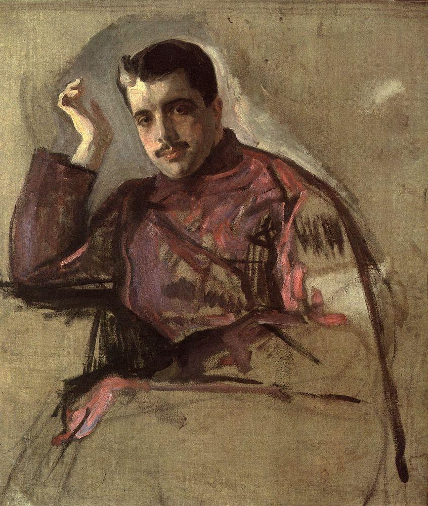 Портрет С.П.Дягилева. 1904