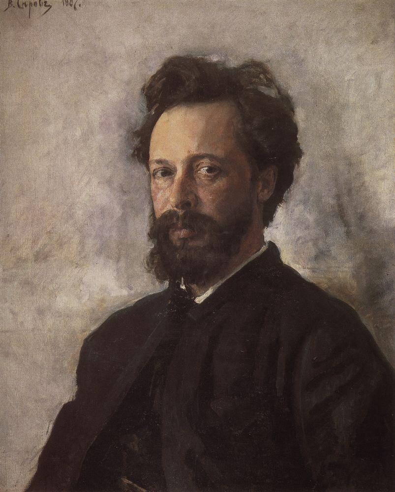 Портрет С.П.Чоколова. 1887