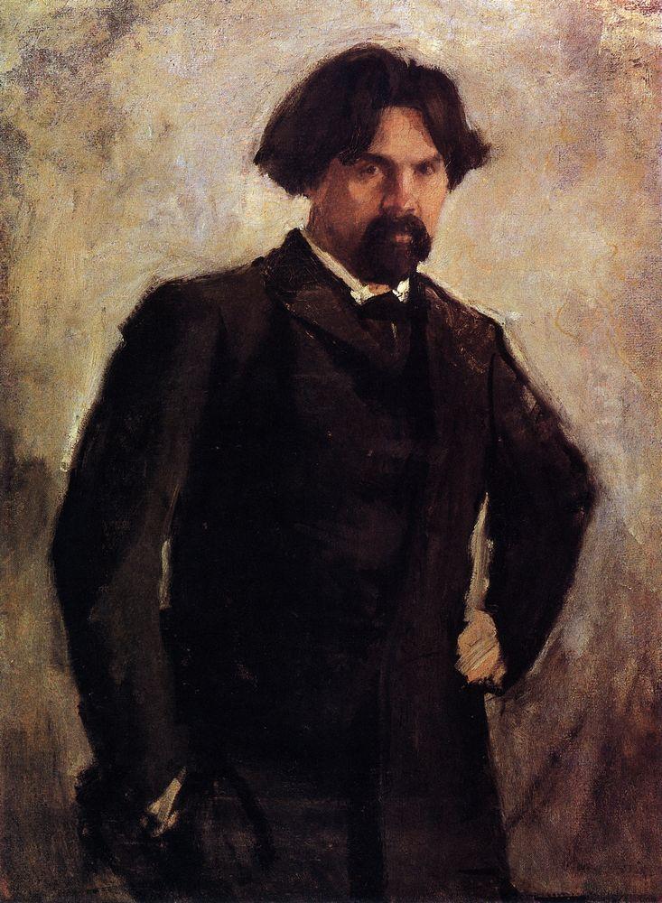 Портрет художника В.И.Сурикова. Конец 1890-х